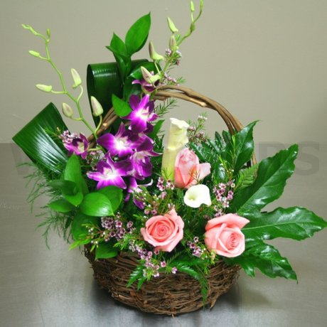 W Flowers product: Sincerity Basket