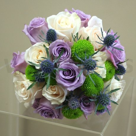 W Flowers product: Soft purple wedding bouquet