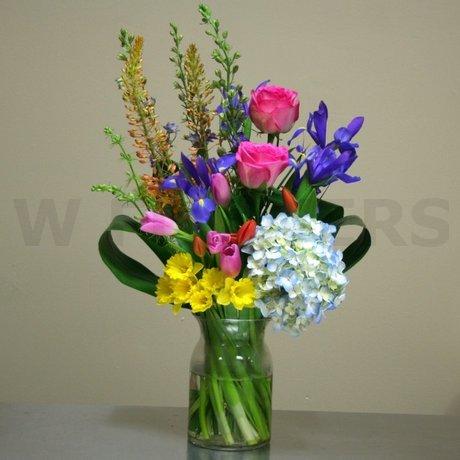 W Flowers product: Spring Vase