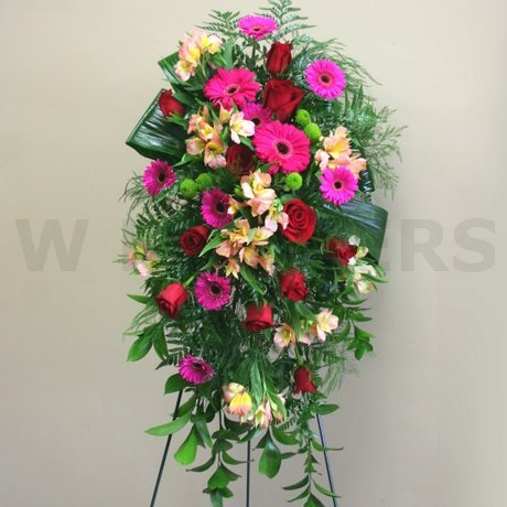 W Flowers product: Standing Spray Multicolor
