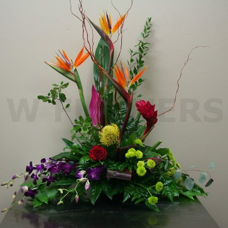 W Flowers product: Stylized
