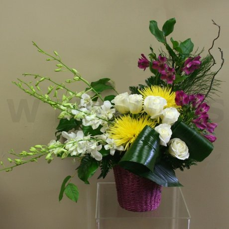 W Flowers product: Stylized Tribute