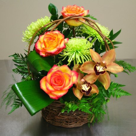 W Flowers product: Sunny Days Basket