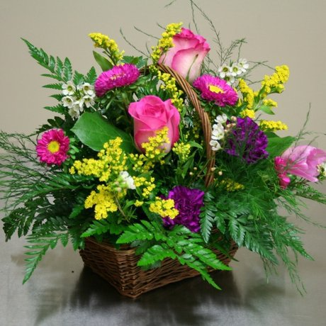 W Flowers product: Sweet Dreams Basket