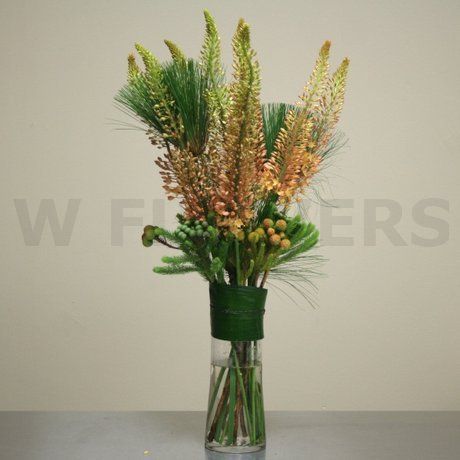 W Flowers product: Tall Modern Vase Arrangement