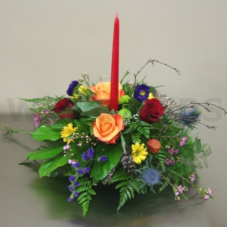 W Flowers product: Thanksgiving Centerpiece