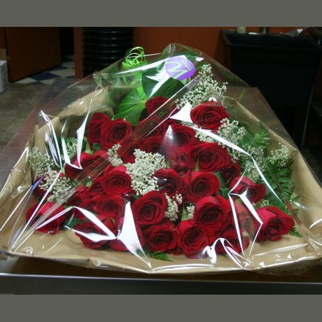 W Flowers product: Three dozen red roses