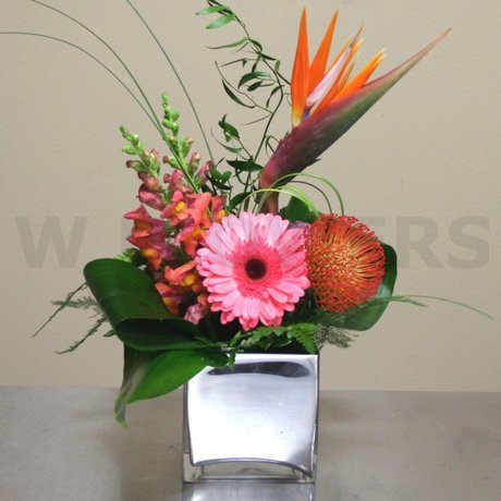 W Flowers product: Tropical Arrangement