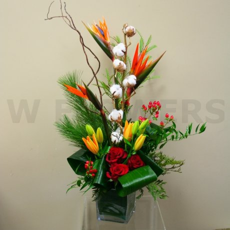 W Flowers product: Tropical Flowers Arrangement