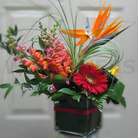W Flowers product: Tropical Vase