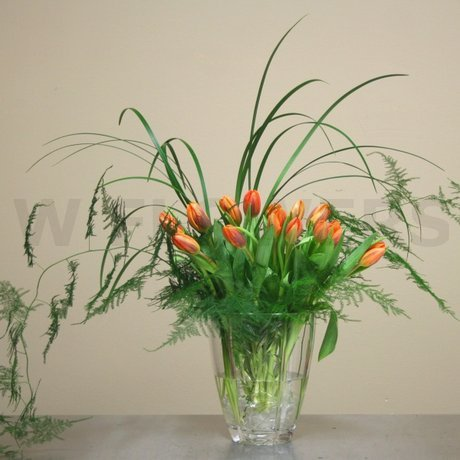 W Flowers product: Tulips in Vase for Wedding