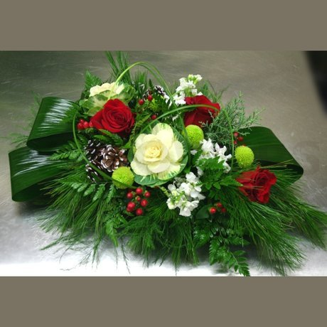 W Flowers product: Unique Winter Centerpiece