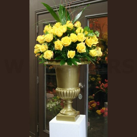 W Flowers product: Urn Arrangement for Wedding Ceremony