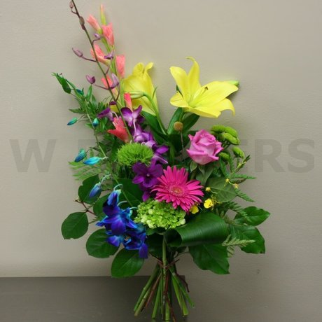 W Flowers product: Vibrant Bouquet