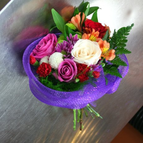 W Flowers product: European Vibrant Bouquet