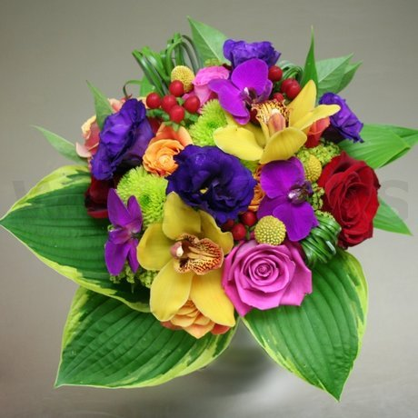 Flower Delivery Ottawa on Vibrant Bridal Bouquet   W Flowers Ottawa