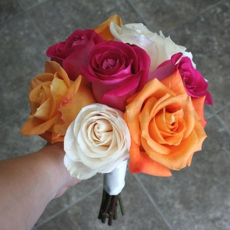 W Flowers product: Vibrant bridesmaid bouquet