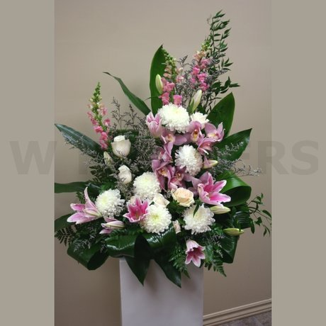 W Flowers product: Wedding Altar Flowers