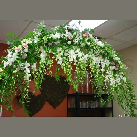 W Flowers product: Wedding Arch decorated with flowers