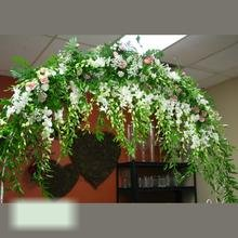 W Flowers product category: Wedding Arch decorated with flowers