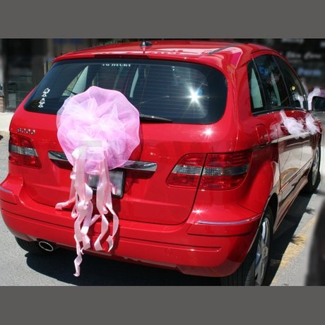 W Flowers product: Wedding Car Decoration Back