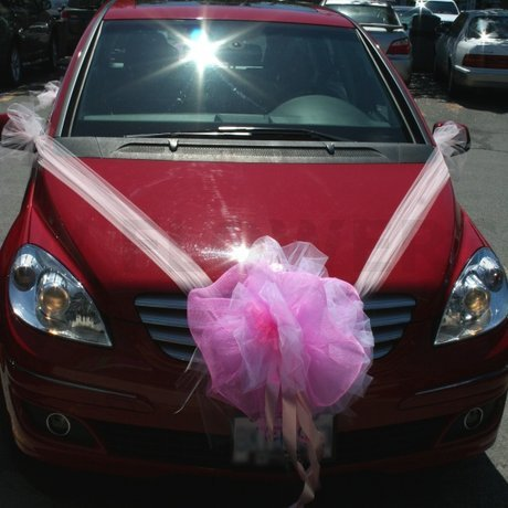 W Flowers product: Wedding Car Decoration Front