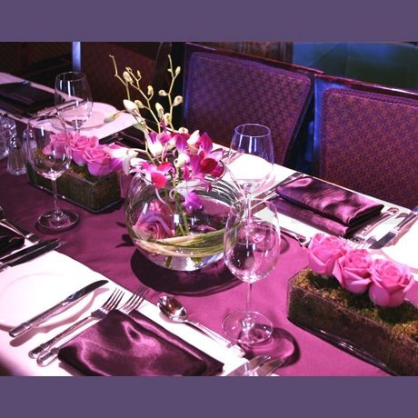 Wedding Centerpieces With Purple Roses And Orchids W Flowers Ottawa