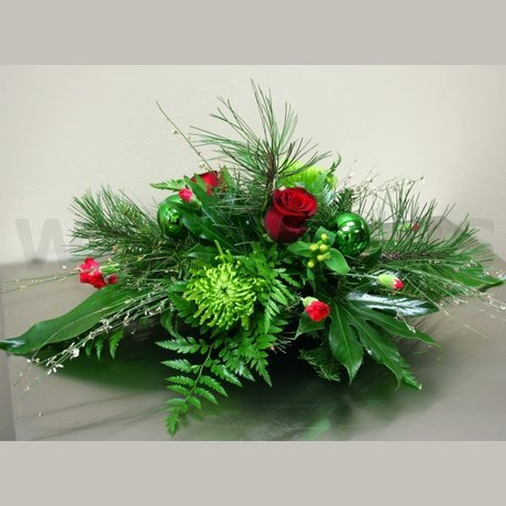 W Flowers product: Whimsical Winter Centerpiece