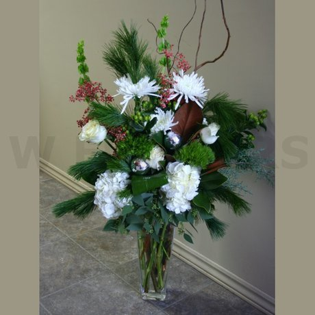 W Flowers product: White Christmas