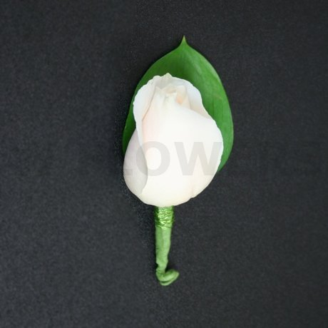 Flower Delivery Ottawa on White Rose Boutonniere   W Flowers Ottawa