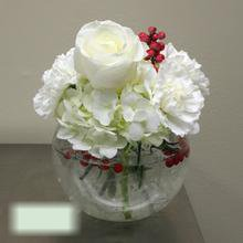 W Flowers product category: White Winter Vase