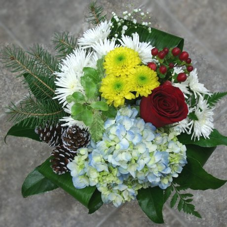 W Flowers product: Winter Bouquet