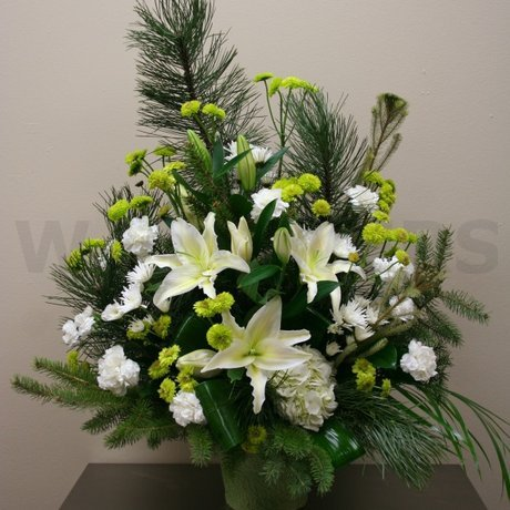 W Flowers product: Winter Tribute