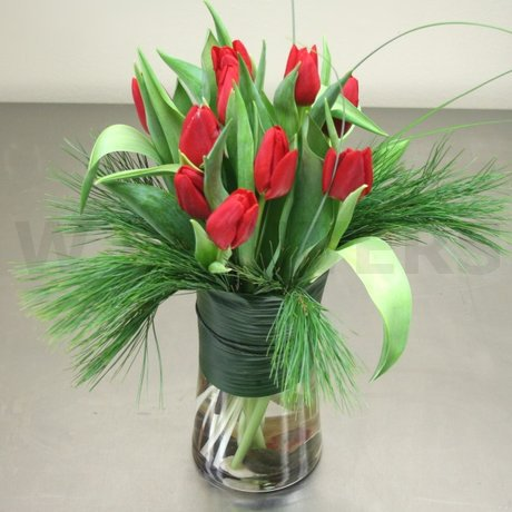 W Flowers product: Winter Tulips