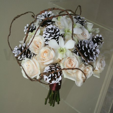 W Flowers product: WinterWeddingBouquet