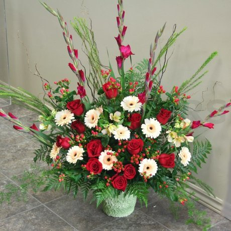 W Flowers product: With Love Arrangement