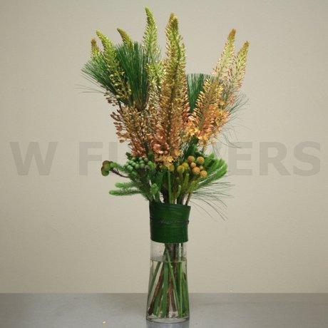 W Flowers Product Tall Modern Vase Arrangement