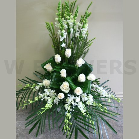 W Flowers Product Wedding Ceremony Flower Arrangement